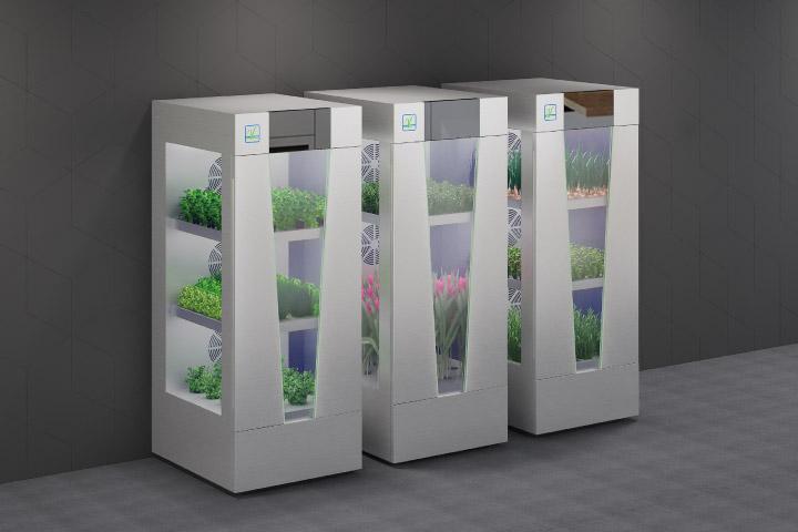 3 TekGrow Smart In-Home Garden open door